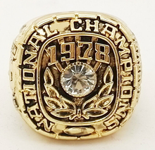 1978 NCAA Alabama Crimson Tide American football sale replica championship rings fashion men jewelry Fast shipping STR0-242