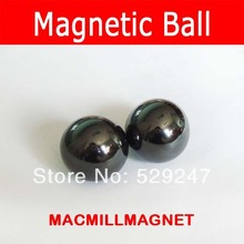 2Pcs Ferrite Magnet Balls Diameter 30mm Super Big Polished Ceramic Sphere D30 ball Permanent Magnets magnetic ball craft magnets(China)