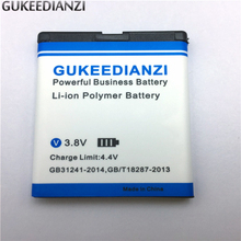 GUKEEDIANZI BL-5K 1300mAh Phone Battery For Nokia N85 N86 N87 8MP 701 X7 X7 00 C7 C7 00 Mobile Replacement Rechargeable Battery