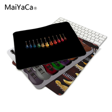 Funny item Luxury Eelctric guitars Mouse Mats Anti-Slip Rectangle Mouse Pad 180*220mm or 250*290mm(China)