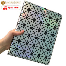 "Case For ipad mini Luxury fashion laser diamond bling colorful smart cover for ipad mini 2 3 7.9""inch cover for ipad mini Retina(China)"