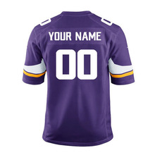 Minnesota Custom game vikings Sam Bradford cook randy moss Stefon Diggs Teddy Bridgewater Anthony Barr Adam Thielen jersey(China)