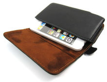 Black Leather Pouch Carrying Case Belt Clip Holster For Apple Iphone 3Gs 4G 4S(China)