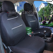 Buy  (Front + Rear) Universal car seat covers Nissan Qashqai Note Murano March Teana Tiida Almera X-trai auto accessories for $50.95 in AliExpress store