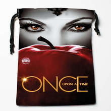 New Arrival Once Upon a Time Season Drawstring Bags Custom Storage Printed Receive Bag Type Bags  Storage Bags Size 18X22cm