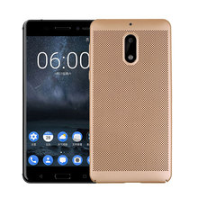 "KSQ For Nokia 6 case 2017 hard plastic cover case coque phone fundas for Nokia6 5.5"" Nokia 6 Android 7 Radiating Hol back case(China)"