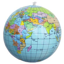 SAE Fortion Aerated Inflatable World Globe Earth Tellurion Home Decorative Ornament Globe Map Tellurion Home Accessories MS426(China)