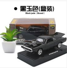 1970 Dodge Chargers R/T 1:32 MINIAUTO car model with stand kids toy pull back light sound Fast & Furious sports car collection(China)