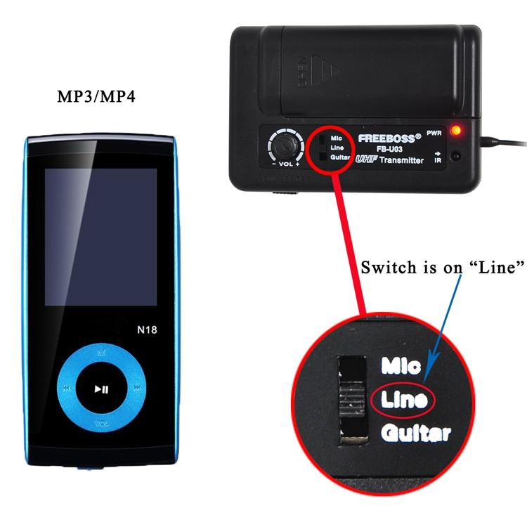 FB-U03-2 43 Wireless Microphones