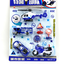 Children's Toys Back To Special Police Unit Set Educational Toys For Boy Children Birthday Gifts