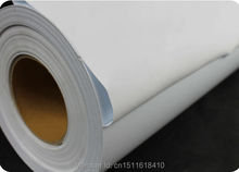 CDF-02 white color Custom flock heat transfer vinyl for clothing size :50*500cm