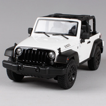 Maisto 1:18 2014 JEEP Wrangler WILLYS SUV Convertible Diecast Model Car Toy New In Box Free Shipping 31610