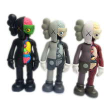 16 Inch Originalfake KAWS Dissected Companion Open Edition Art Fashion Toy Original Fake With Red Retail Box Decoration A118(China)