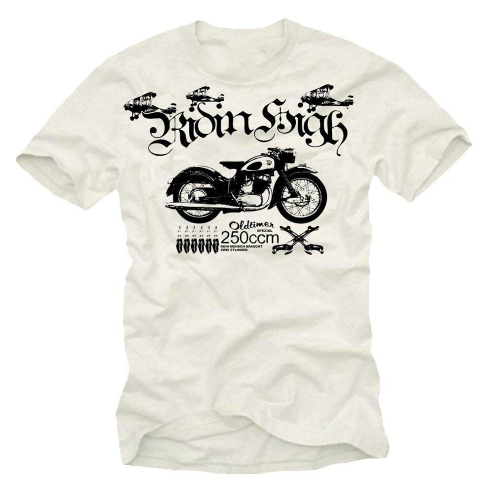 Bike Motorcycle T-Shirt Youngtimer Oldtimer Honda Gl 650 Silverwing