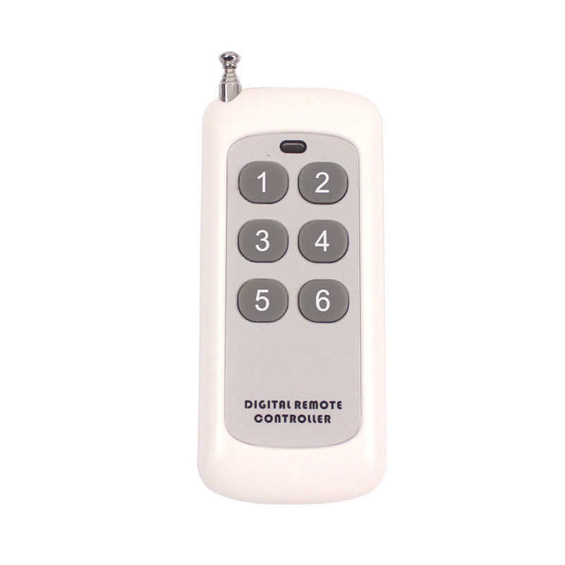 Universal Wireless Remote Control Vibrating 1-6 Times Vibrations Remote Control Alarm Sensor Remote Reminder Kit (3)