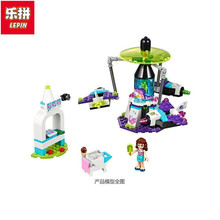 Lepin 01006 Compatible with Friends Amusement Park a Space Odyssey 41128 Bricks Educational Toy For Children(China)