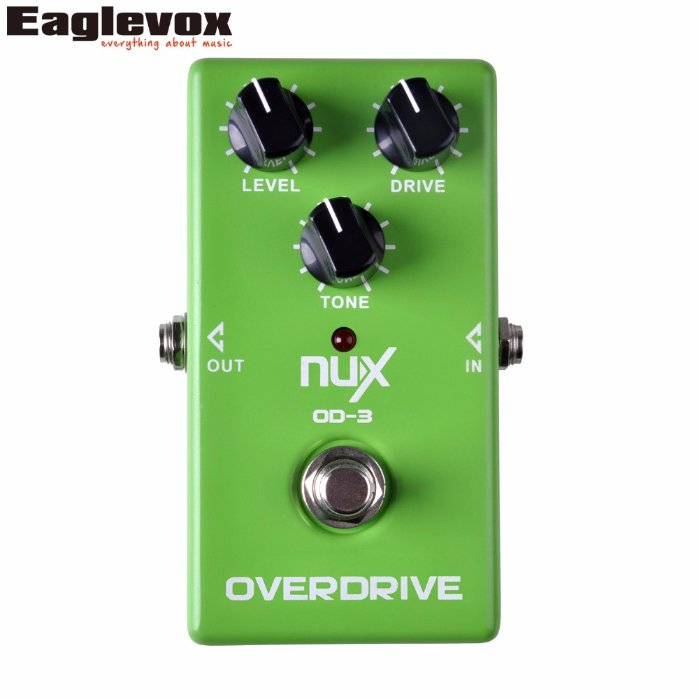 NUX OD-3 Vintage Overdrive Guitar Effect Pedal True Bypass OD3 <br>