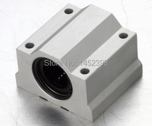 2pcs/lot SC8UU SCS8UU 8mm Linear ball bearing block with LM8UU bush, pillow block linear unit for 8mm shaft CNC part
