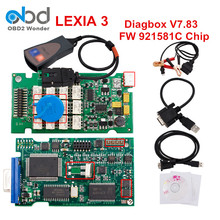 Professional Lexia 3 V48 Diagbox V7.83 Auto Diagnostic Scanner Tool Lexia3 PP2000 FW 921581C Chip For Citroen For Peugeot