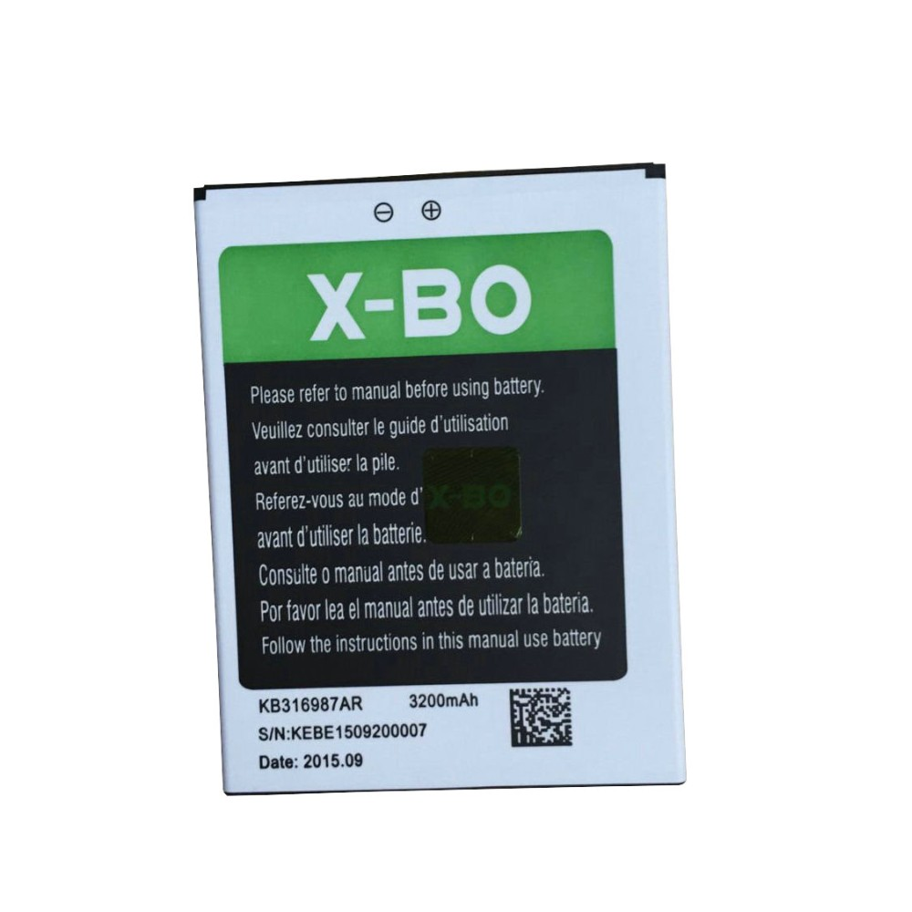 Original X-BO O1 mobile phone battery 3200mah for For X-BO O1 6.0 Inch Android 5.1 MTK6580 Quad Core Smartphone-free shipping(China)