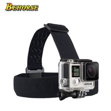 Head Strap Camera Mount for Gopro Hero 5/5 Session/4 Session/3+/3/2/1 Sjcam SJ4000/Sj7000 Xiaomi Yi /Eken Adjustable Head Band(China)