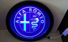 tr13 Alfa Romeo Car Services Parts RGB led Multi Color wireless control beer bar pub club neon light sign Special gift
