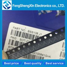 100pcs/lot    New   BSS138   BSS138LT1G   J1  SOT23-5    Power MOSFET 200 mA, 50 V