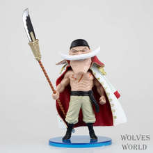 Hot 1pcs 6-8CM pvc Japanese anime figure one piece Q version Edward Newgate action figure collectible model toys brinquedos(China)
