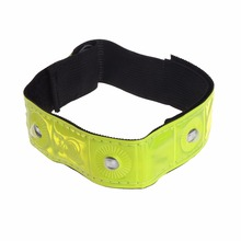 LED Light Cycling Arm Band Reflective Running Outdoors Safety Belt Wrist Straps(China)