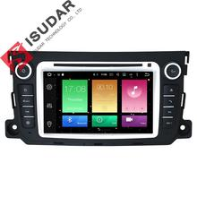 Android 6.0.1 Two Din 7 Inch Car DVD Player For Mercedes/Benz/Smart/Fortwo 2012-2014 Octa Cores 3G/4G WIFI Radio GPS Navigation(China)