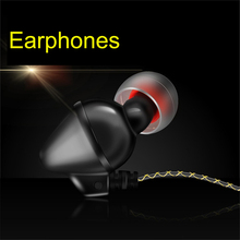 in-ear Noise Cancelling Headphones Sport Running Earphones with microphone for iPhone Samsung Computer MP3/4 Player VH142