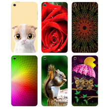 Case For Apple iPod Touch 4 Back Cover Flower Plants Original Hard Plastic Printed Cartoon Cute Cat Owl Animal Phone Case(China)