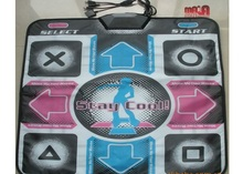Single dance pad Non-Slip Dancing Step Dance Game Mat Pad for sony PS2 PS3  (with a converter)
