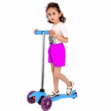 Buy Arshiner Foldable Children Patinete 3 Wheels Scooter Kids Lighting Learning Balance Kick Mini Riding Scooter Patinete Infantil for $45.59 in AliExpress store