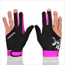 1 Piece 3 Fingers Billiard Right Hand Gloves biljart handschoenen Lycra anti skid Glove Snooker instruments snooker accessories(China)