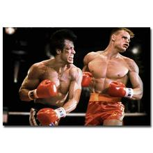 Art-Story- Boxer Rocky Art Silk Poster Print 13x20 inch SYLVESTER STALLONE Movie Pictures Living Room Decor 0010(China)