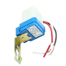 Free Shipping AC DC 12V 10A Photocell Street Auto On Off Light Photoswitch Sensor Switchfor home tool(China)
