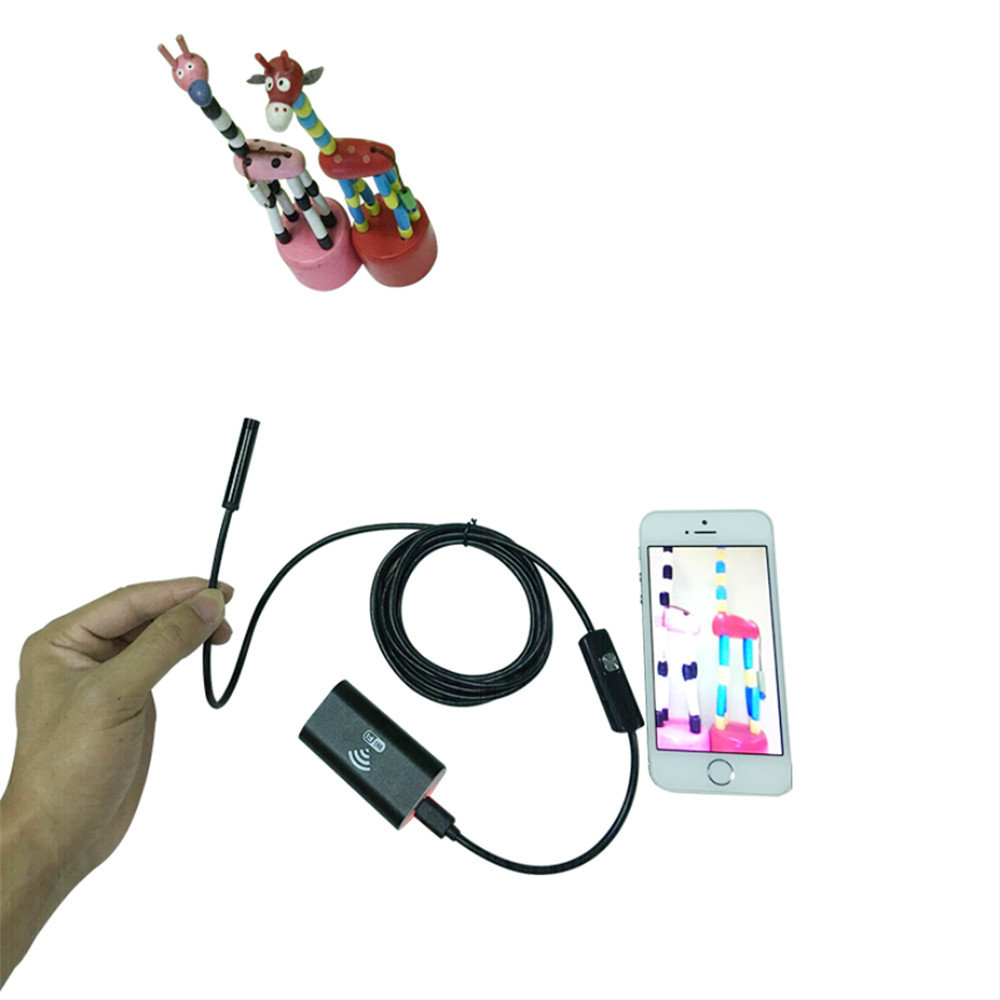 HD 2MP 1080X720P  WIFI Endoscope For Android and ISO 1M<br>