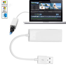 USB 2.0 To RJ45 Lan Network Card Ethernet Adapter 10/100Mbps For Mac OS Android Tablet PC Laptpo Win 7 8 XP