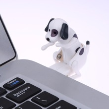 Portable 60x30x60mm Funny Cute Pet USB Humping Spot Dog Creative Toy New USB Gadgets(China)