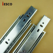Seventy percent off rail track cabinet drawer track rail pulley rail track width of 42mm silencing(China)