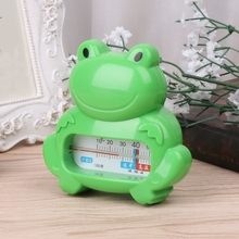 Cute Water Room Thermometer Baby Bathing Frog Shape Temperature Test Infant Kid Shower Toys(China)