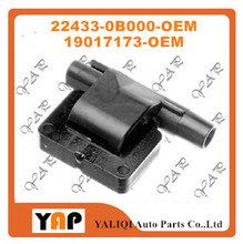 New High Quality Ignition Coil FOR FITNissan Maxima Micra 100 NX Prairie PRO Sunny 1.6L 2.0L 3.0L L4 V6 19017173 22433-0B000 195(China)
