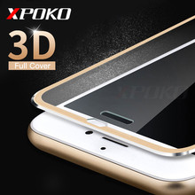Buy XPOKO Tempered Glass iPhone 8 6 6S 7 Plus Full Screen Protector 3D Aluminum Alloy iPhone 5 5S SE 6 7 8 Protective glass for $1.49 in AliExpress store
