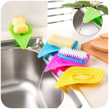 5pcs Draining Soap Box Kitchen Sink Soap Storage Drainage Shelf Soap Dish Kitchen Bathroom Set Tray Soap Holder