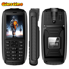 New VKWorld Stone V3 Max IP68 Water Proof Phone 5300mAh Dual SIM Bluetooth FM Radio Torch 2.4 inch Battery Long Standby Time