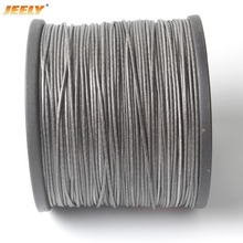 Free Shipping 50m/roll 2MM UHMWPE Fiber Core with UHMWPE Sheathed Jacket Yatch Towing Rope WINCH ROPE(China)
