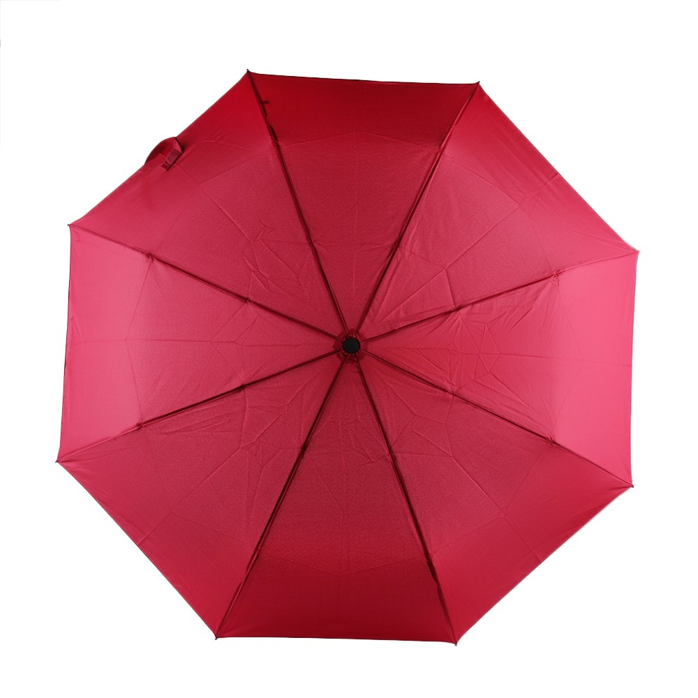 17 New 94*66cm Durable Fashionable Advanced Fully-Automatic UV-proof Three Folding Business Solid Sunshade Rain Umbrella 2