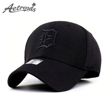 [AETRENDS] Spandex Elastic Fitted Hats Sunscreen Baseball Cap Men or Women casquette bone aba reta Z-1312()