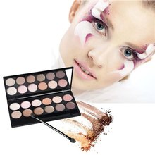 Professional 12 Colors Makeup Colorful Eyeshadow Palette Highlighting Blusher Concealer With Mirror Colormix1(China)